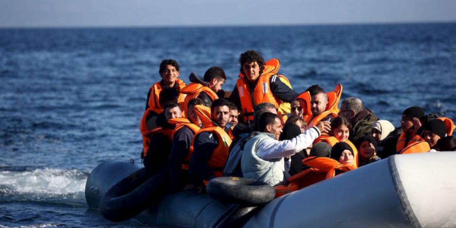 2. Según la Organización Internacional para las Migraciones (OIM), al día de hoy han fallecido tras mil 499 personas en el Mediterráneo. Foto:Getty Images