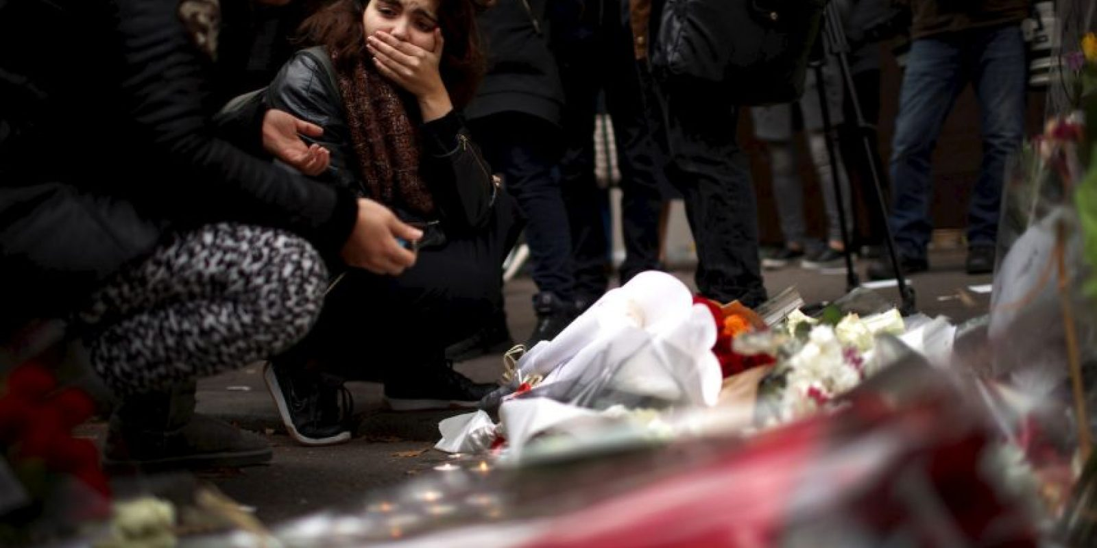 5. CNN recalca que las balas traspasan el cristal, el vidrio y el metal. Foto:Getty Images