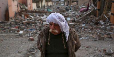En agosto de 2014, Estado Islámico tomó su primera gran ciudad: Sinyar, en Irak. Foto:Getty Images