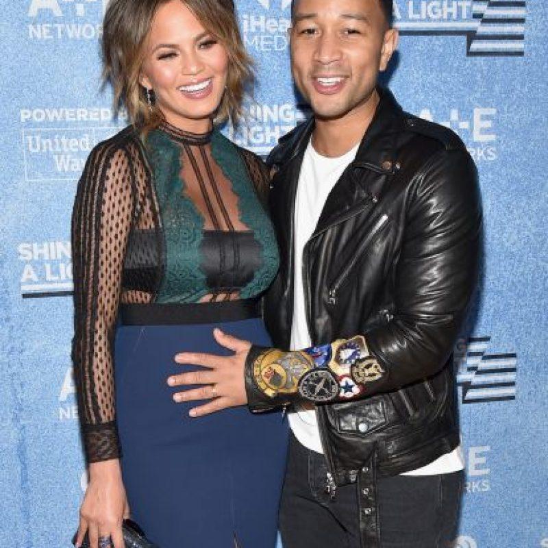 En octubre pasado anunciaron que están esperando a su primer hijo Foto:Getty Images