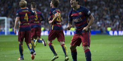 Luis Suárez marcó dos goles Foto:Getty Images