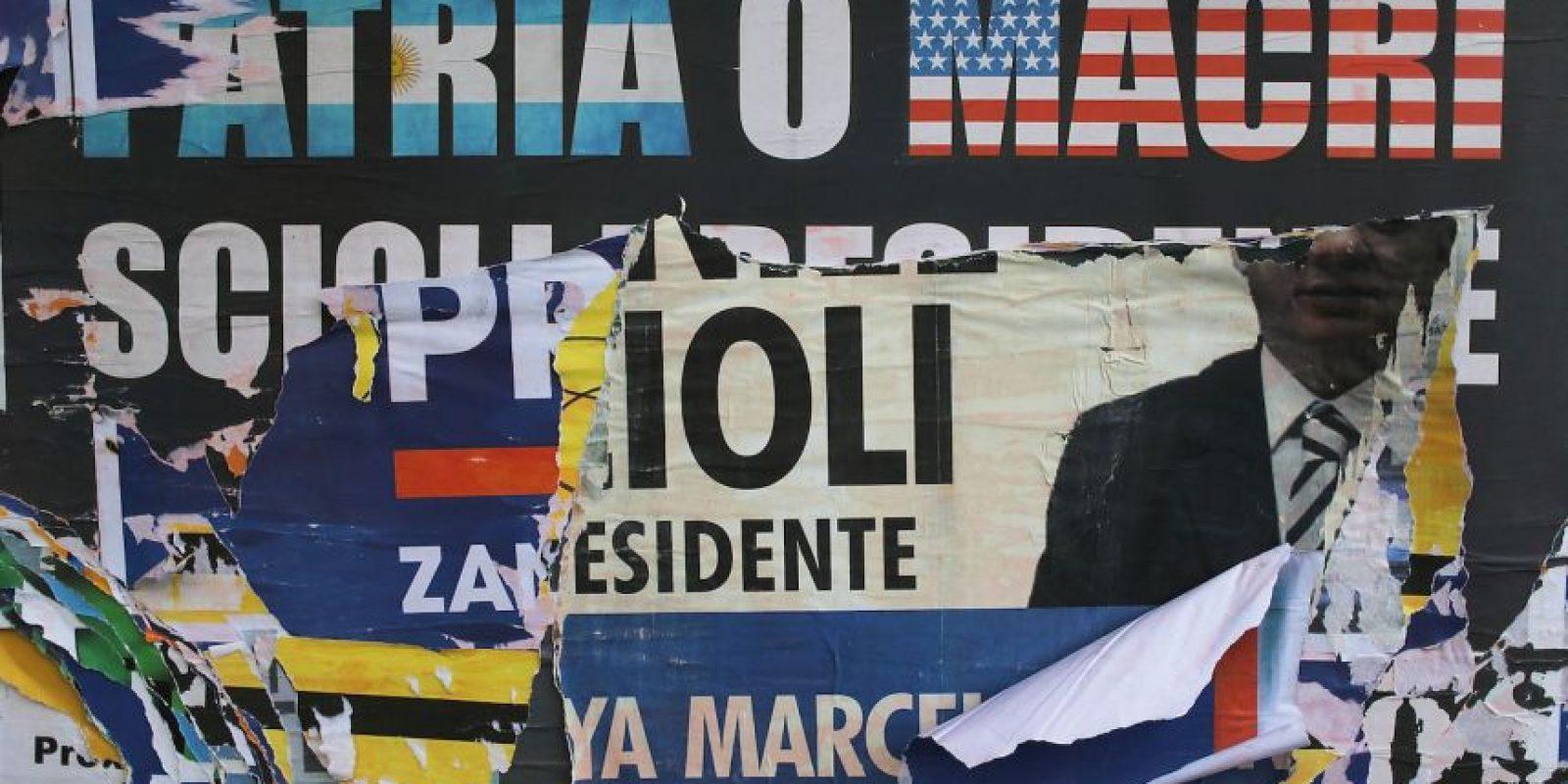 Aunque los primeros resultaron también apuntaron una victoria de Mauricio Macri Foto:Getty Images