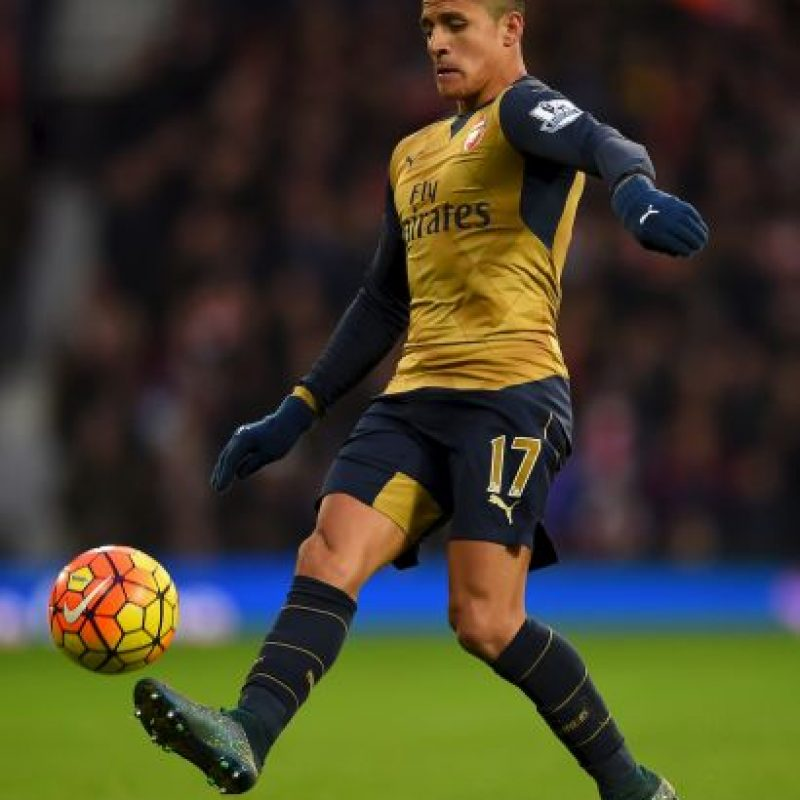 Alexis Sánchez (Chile, Arsenal, 26 años) Foto: Getty Images