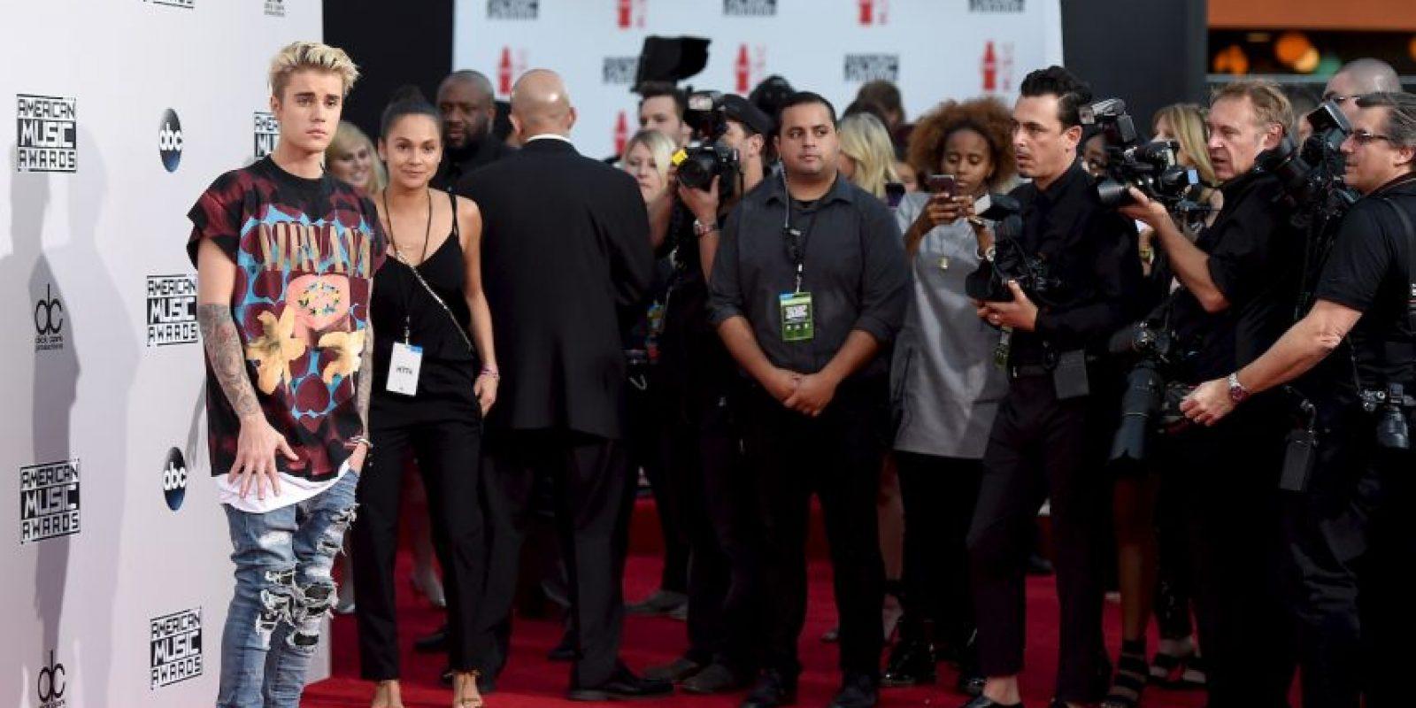 Así lució ante las cámaras Foto:Getty Images