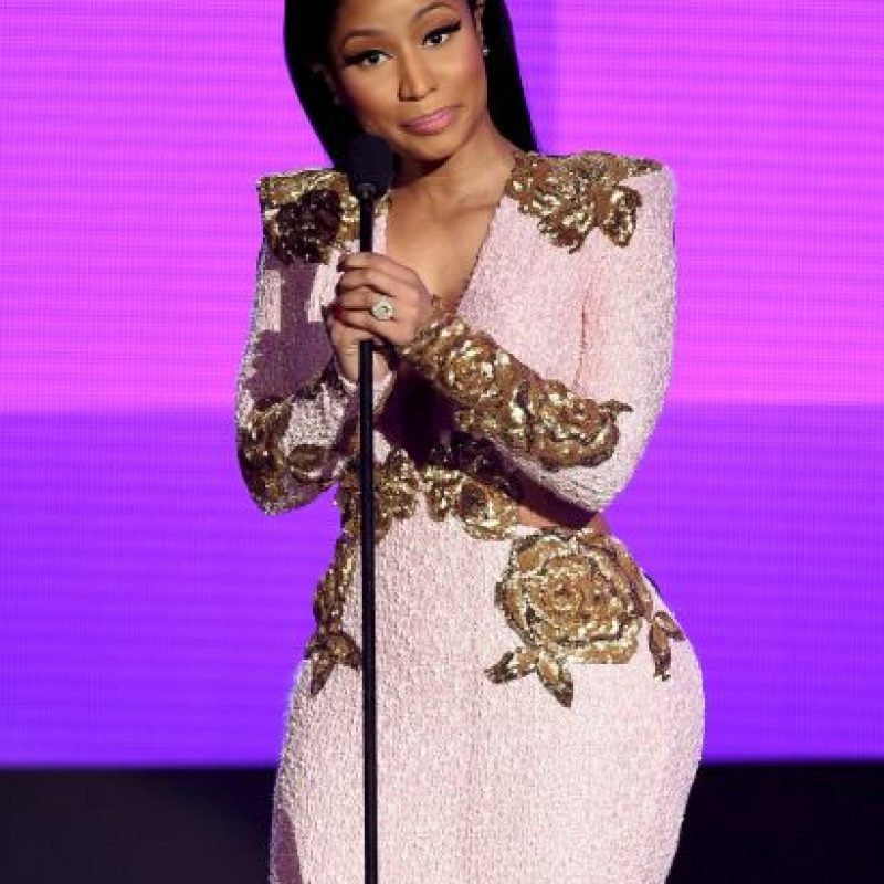 "Mejor álbum rap/hip-hop: Nicki Minaj por ""The Pinkprint"" Foto: Getty Images"