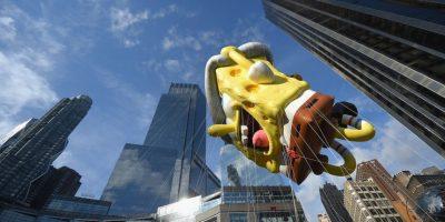 """""""Bob Esponja"""" y """"Hello Kitty"""" toman Nueva York en el desfile más importante del año"""