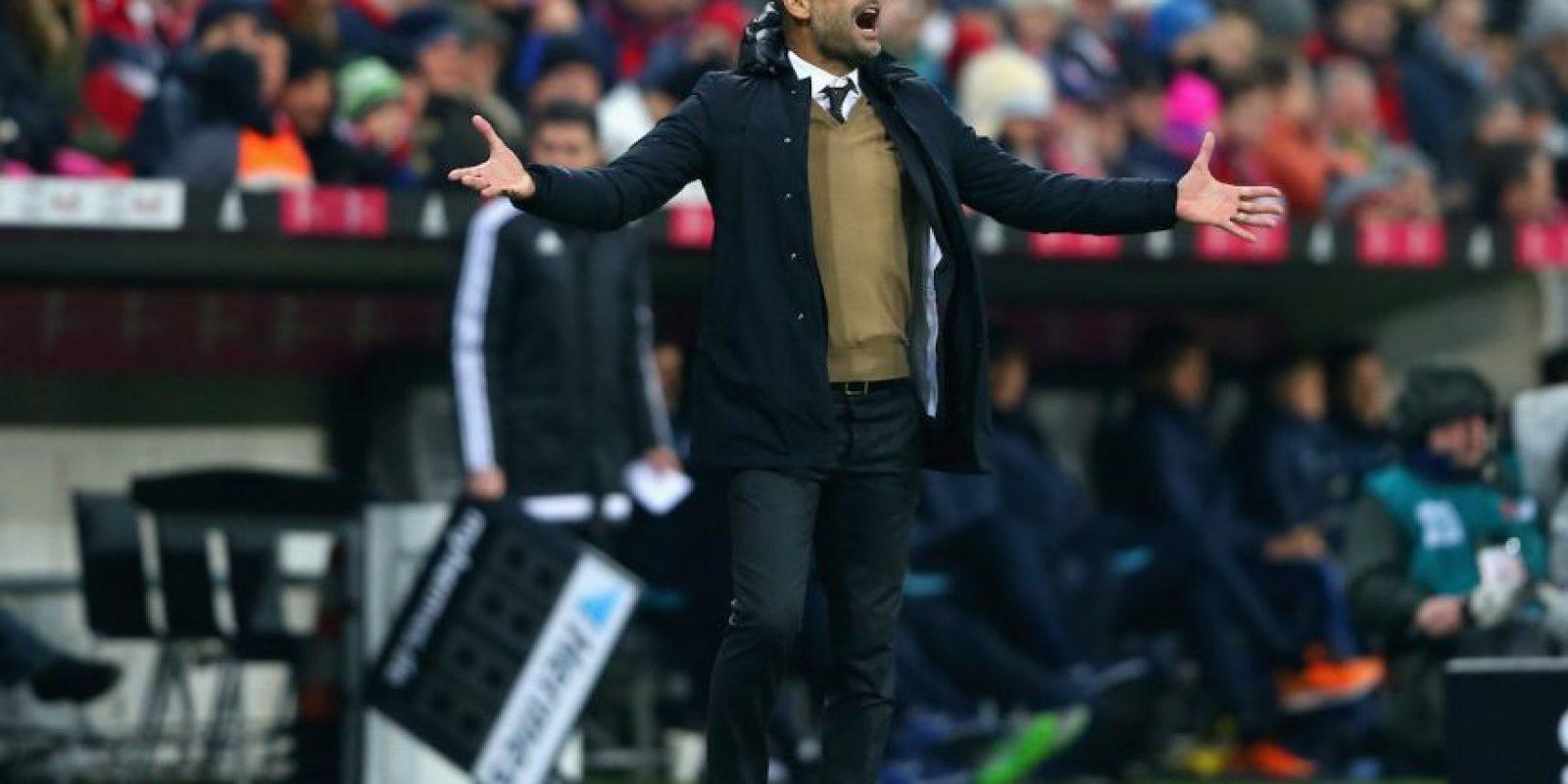 Pep Guardiola es considerado uno de los mejores entrenadores del mundo en la actualidad. Foto:Getty Images