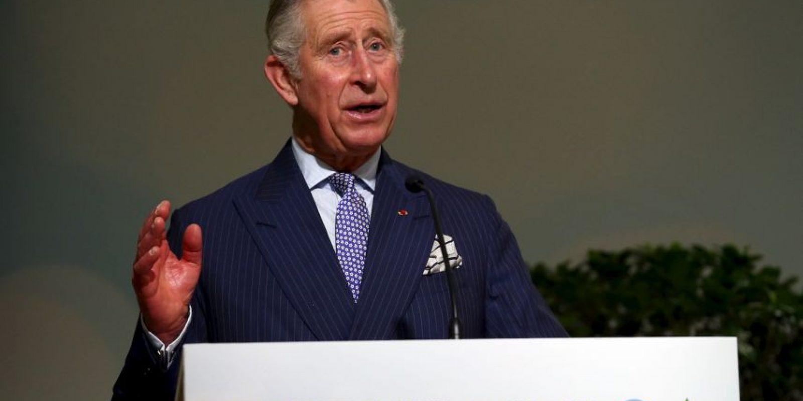 El príncipe Carlos de Gales Foto:COP 21 Getty Images