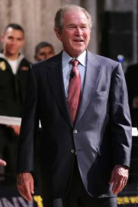 La portada fue al ganar su segundo mandato. Foto:Getty Images