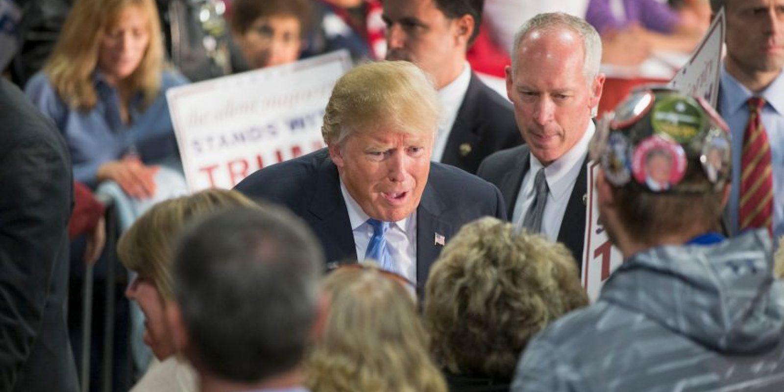 Anonymous señaló a Donald Trump como su nuevo enemigo. Foto:Getty Images
