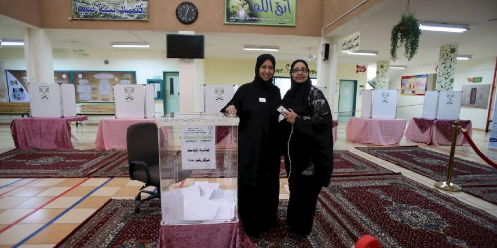 Las mujeres pudieron votar en unas elecciones locales. Foto:Getty Images