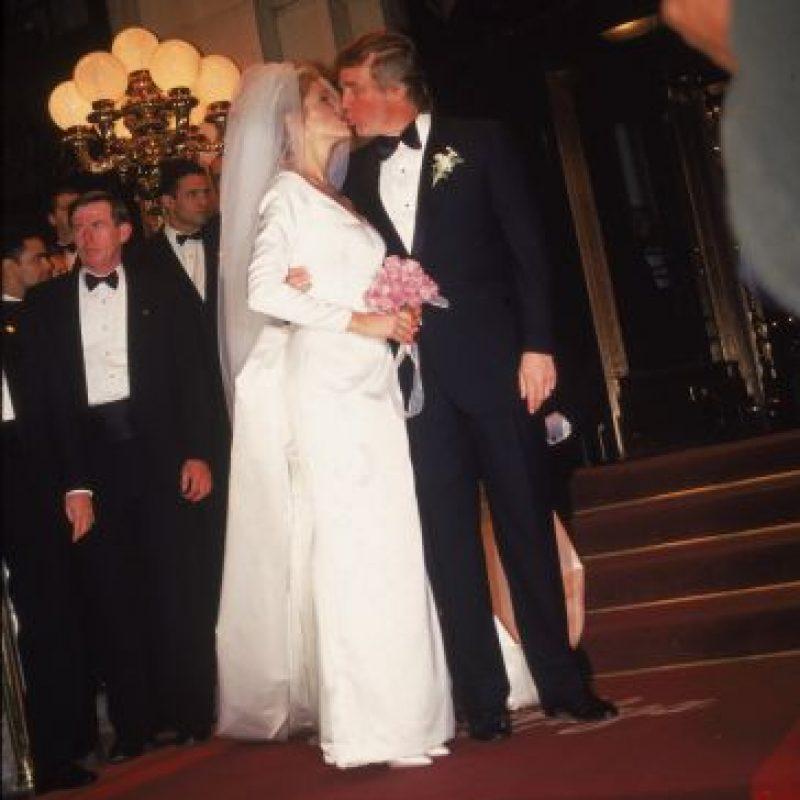 Marla Maples, su segunda esposa y madre de Tiffany Trump. Foto:Getty Images