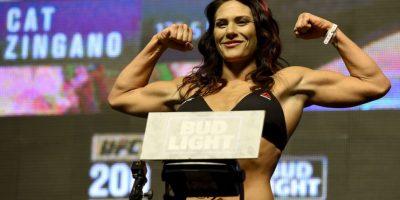 """Cat Zingano. La peleadora de UFC lanzó un reto a la ganadora de """"Hell in a Cell"""" Foto:Getty Images"""