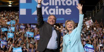 Es el compañero de fórmula de Hillary Clinton Foto:Getty Images
