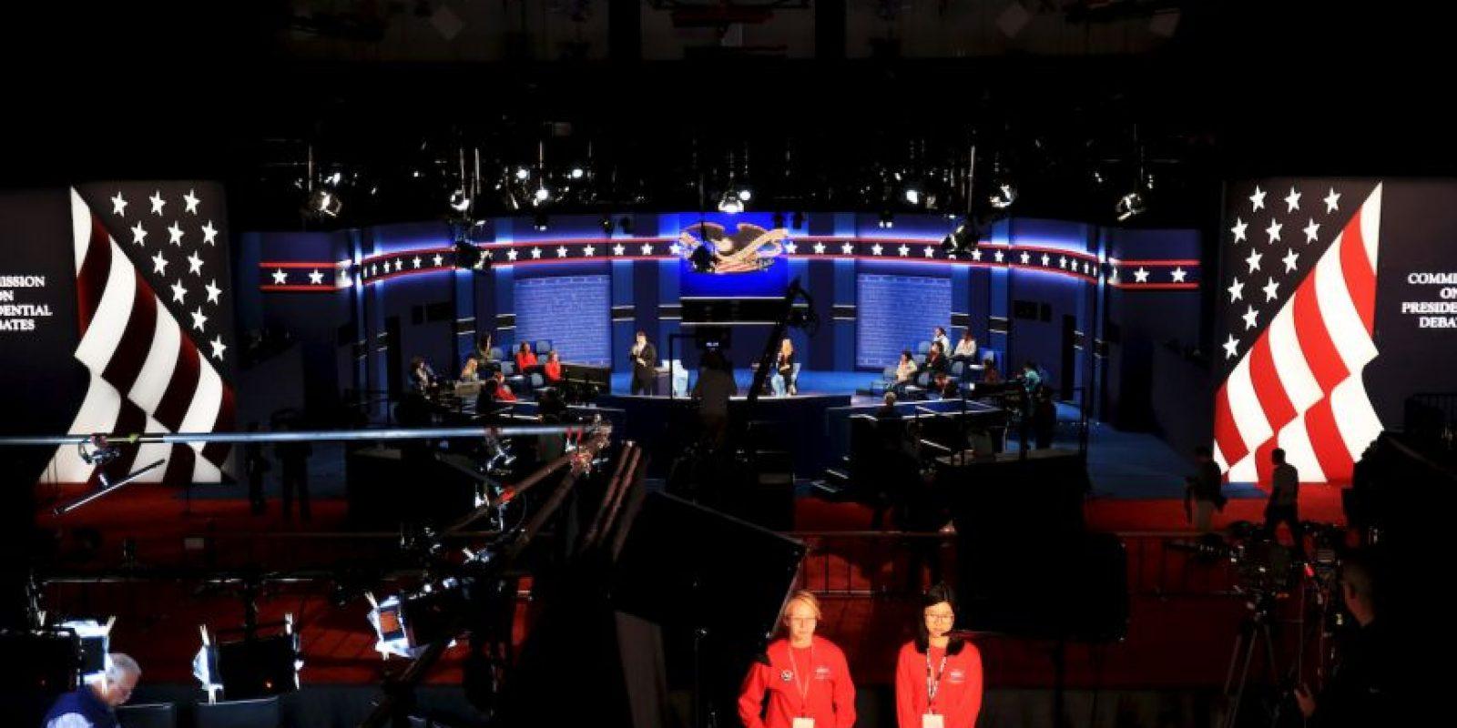 """El debate tendrá el formato de """"Town Hall""""; la mitad de las preguntas las hará el público Foto:Getty Images"""