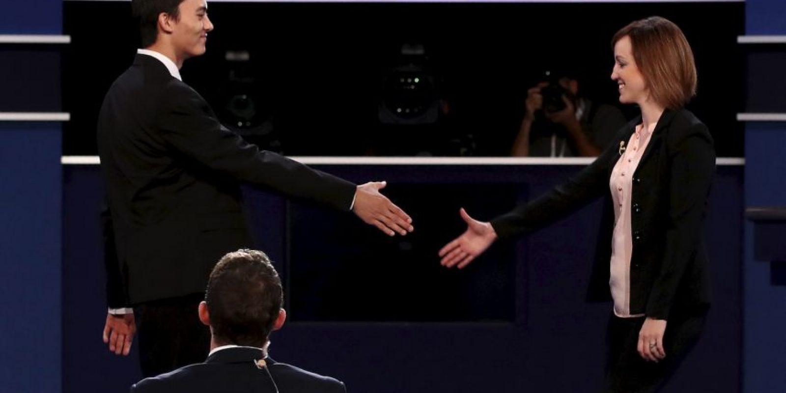 Todo listo para el tercer debate presidencial Foto:Getty Images