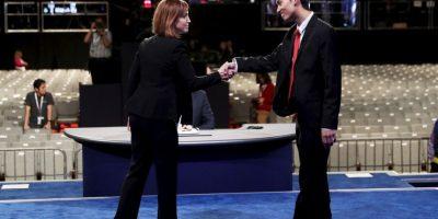 Será el último encuentro entre Clinton y Trump a 19 días de las elecciones Foto:Getty Images