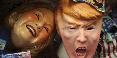 Este año, en Estados Unidos, el disfraz inspirado en los candidatos presidenciales más vendido fue el de Donald Trump Foto:Getty Images