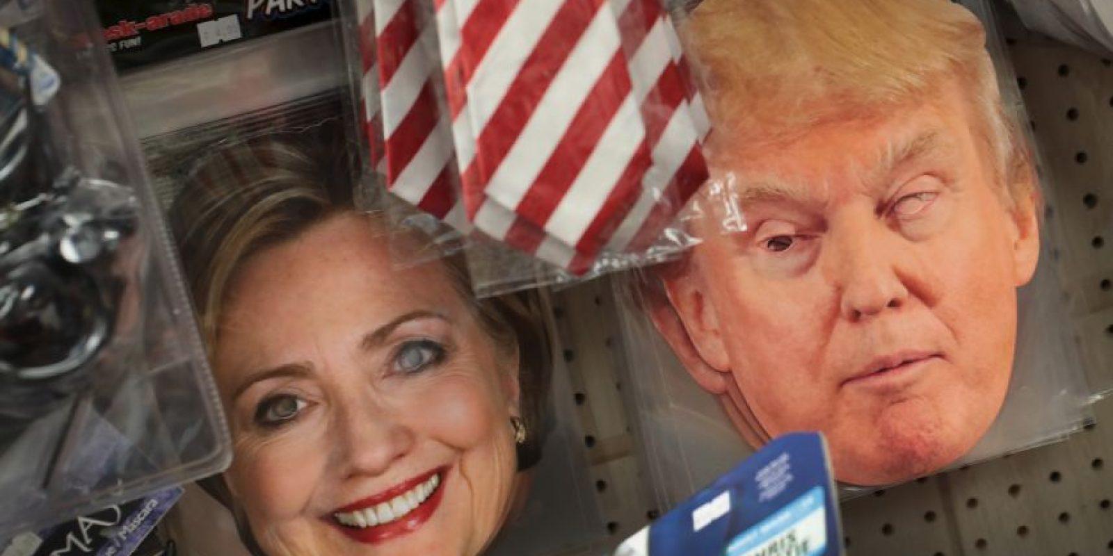 La máscara más vendida podría definir la elección presidencial Foto:Getty Images