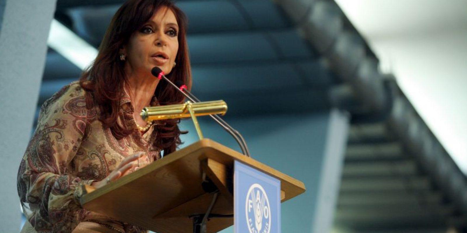 En 2008, en la Cumbre Mundial de los Alimentos en Roma Foto:Getty Images