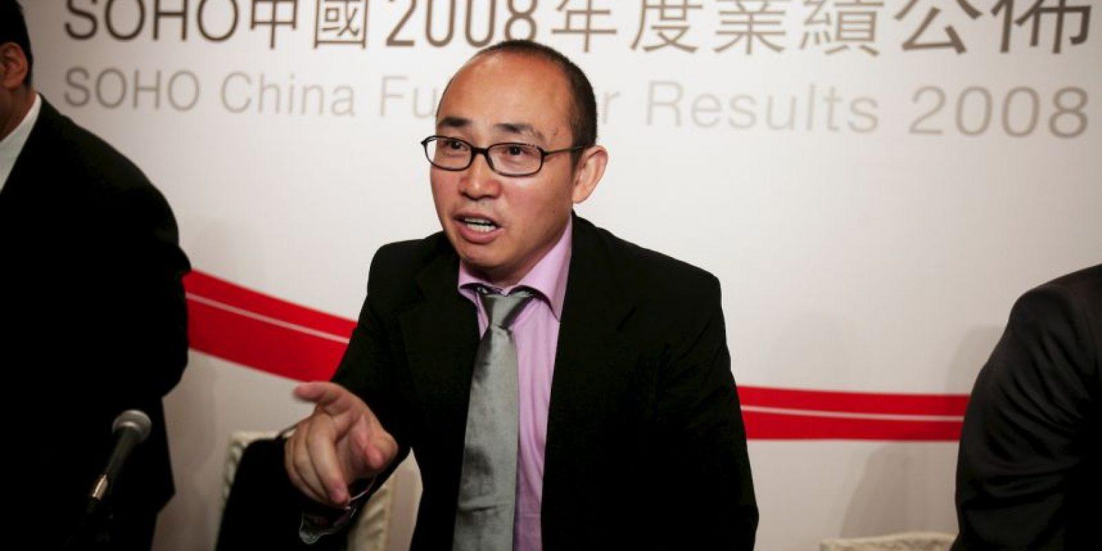 Pan Shiyi, presidente de SOHO China Foto:Getty Images