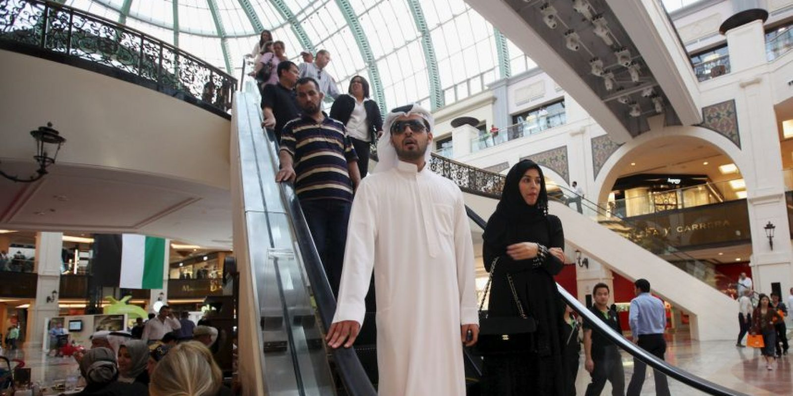 Salir a la calle en Dubai Foto: Getty Images