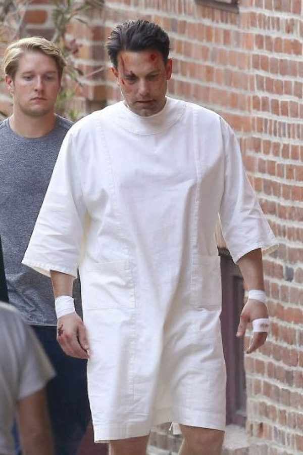 """Ben Affleck fue visto en el set de grabación de su nueva película """"Live By Night"""" Foto:Grosby Group"""