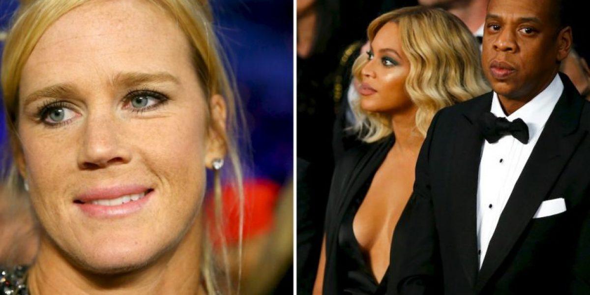 El incómodo momento de Holly Holm con Jay-Z y Beyoncé