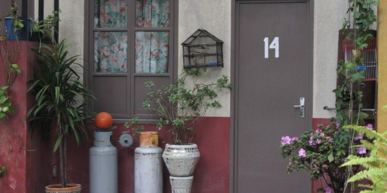 """La casa de """"Kiko"""" y """"Doña Florinda"""". Foto:Nicolás Corte"""