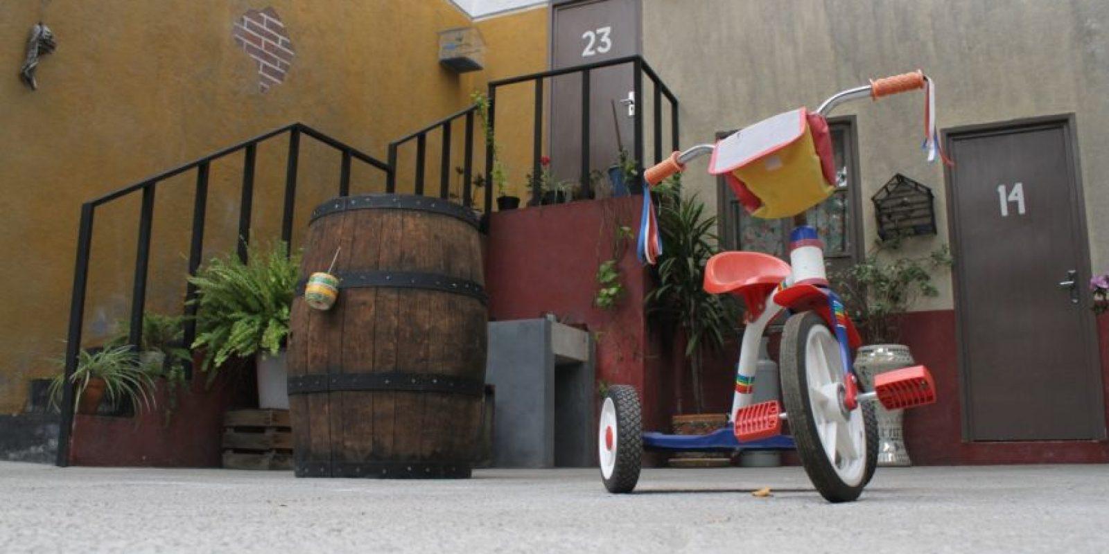 Seguramente todos recuerdan a la vecindad. Foto:Nicolás Corte