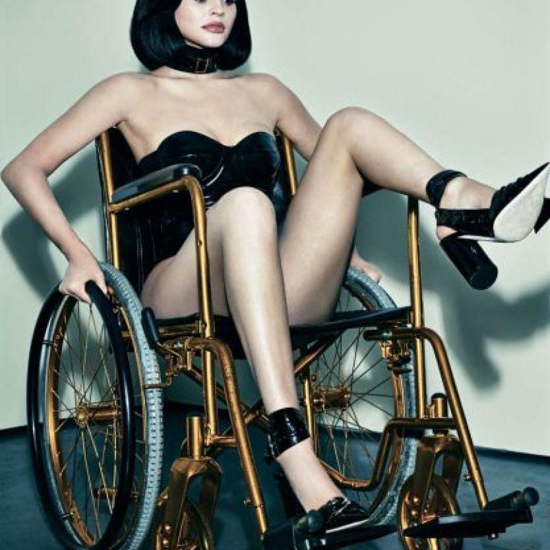"""Pues Gaga cree que Kylie """"tiene un efecto"""" en sus seguidores. Foto:Interview Magazine"""