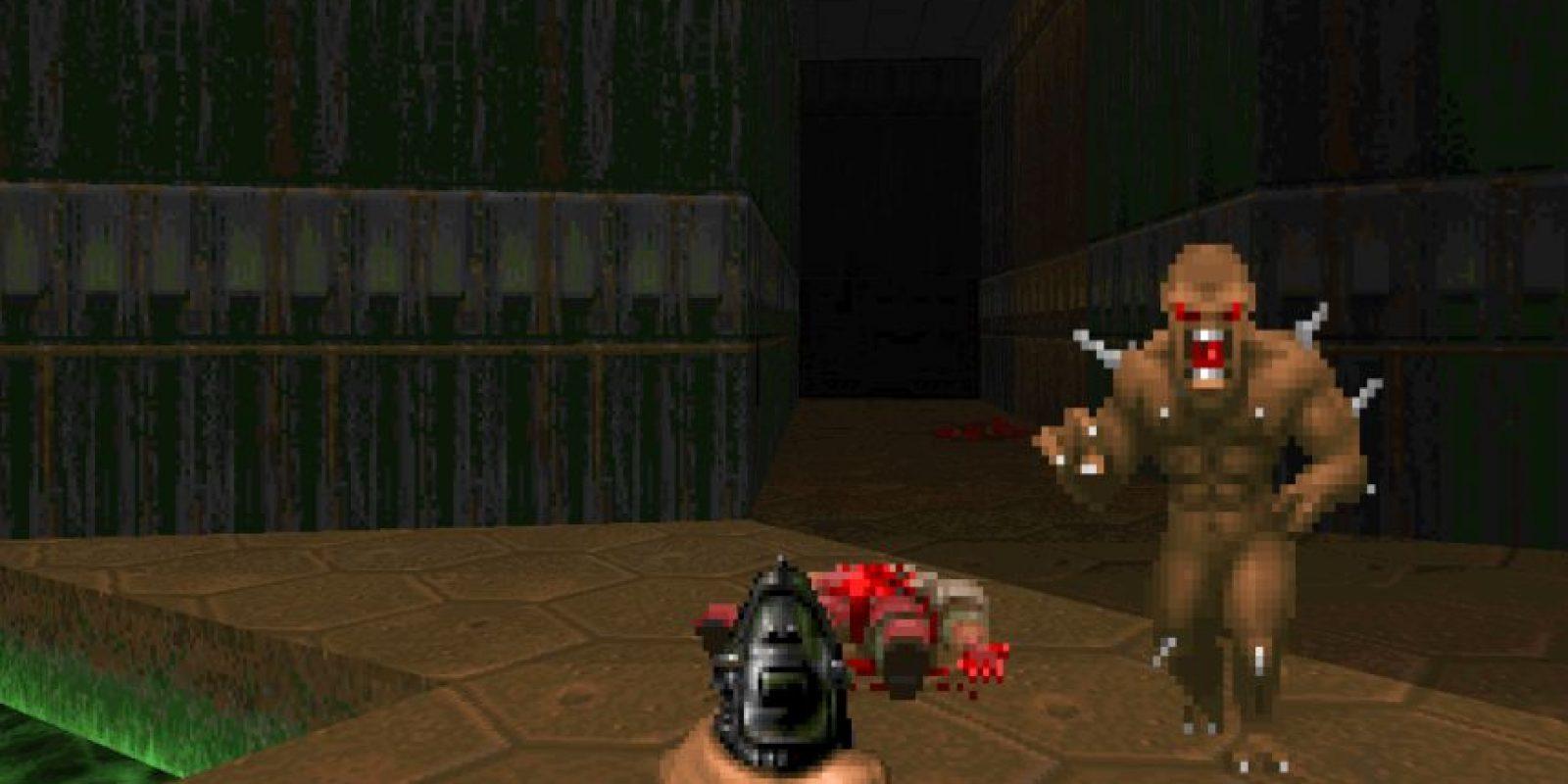 Doom, un videojuego de disparos en primera persona desarrollado en 1993 por la compañía ID Software para el sistema operativo DOS (PC) ahora disponible con mejores gráficos para celulares Android. Foto: ID Software