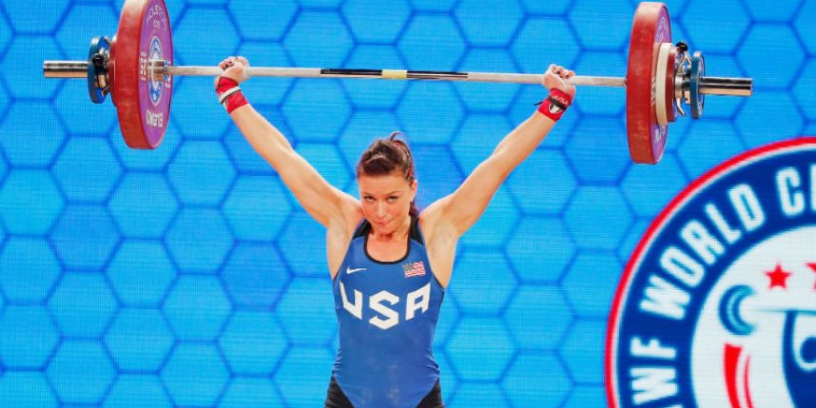 Ella es Jessica Lucero Foto:Getty Images