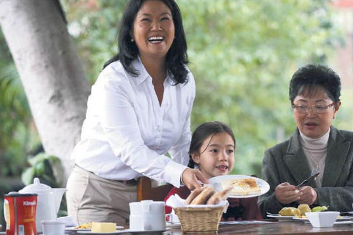 keiko Fujimori es la favorita para ganar en primera vuelta Foto:Fuente Externa