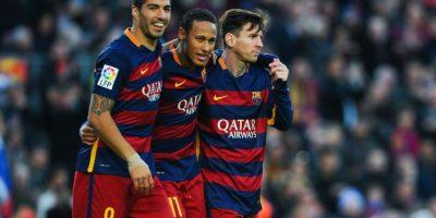 Actualmente es parte de la tripleta de goleadores del club catalán. Foto:Getty Images