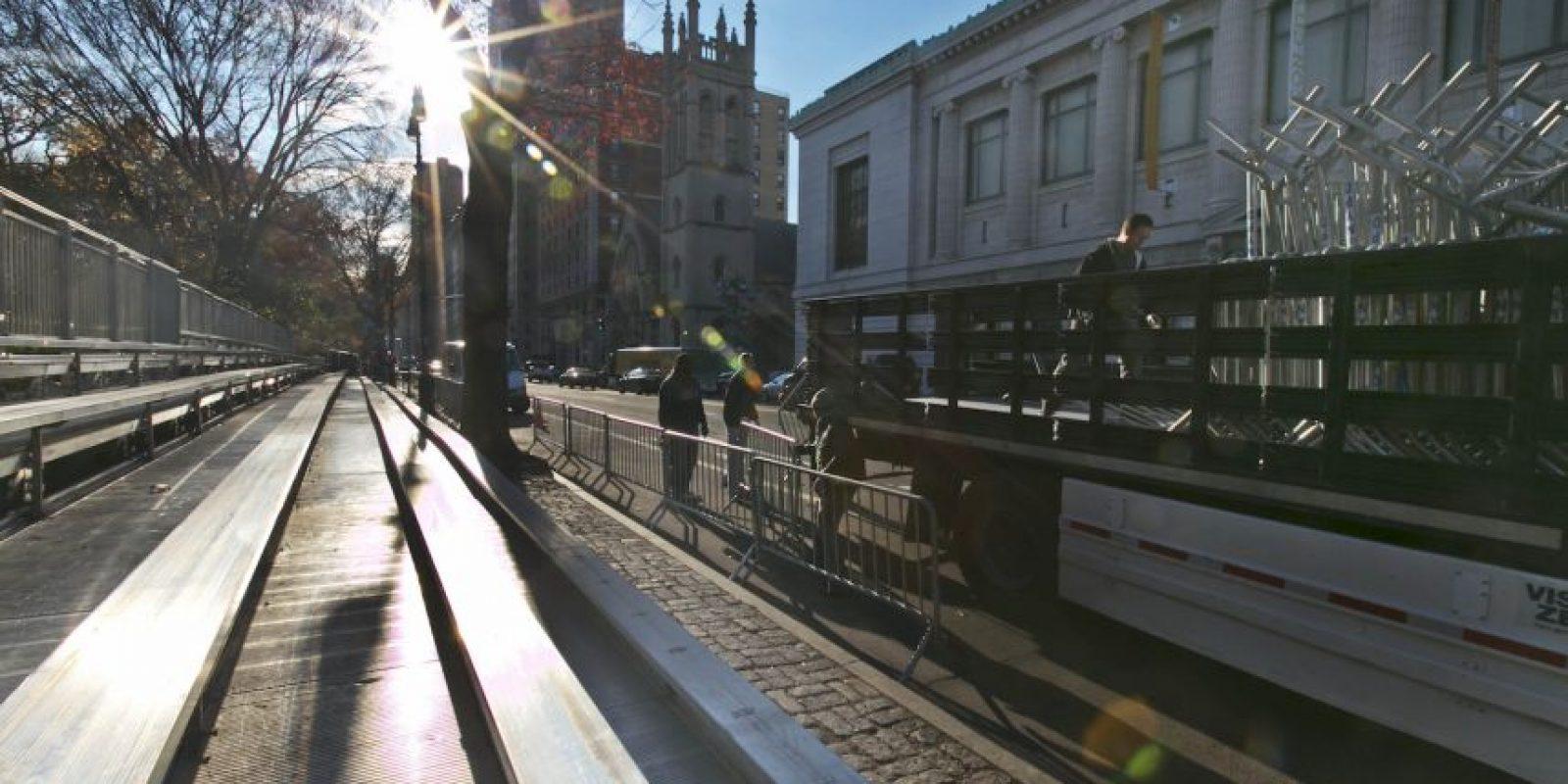 El desfile iniciará a las 9 AM tiempo local Foto:AP