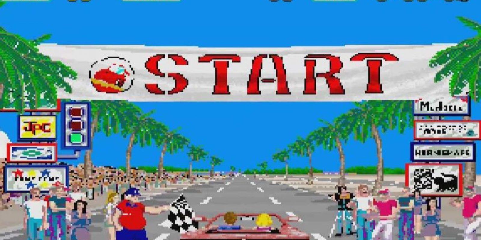 Out Run es un clásico para los amantes de los juegos de carreras. Fue el primer título de la historia que permitió al usuario elegir la música de fondo. Foto:Sega-AM2