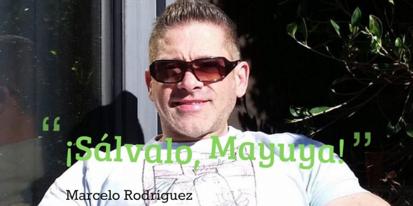 """Junto al """"Mayuyero mayor"""" Marcelo Rodríguez Foto:WWE"""