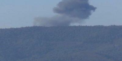 Autoridades turcas afirman que el avión ruso violó el espacio aéreo del territorio diez veces e ignoró varias advertencias. Foto:AFP