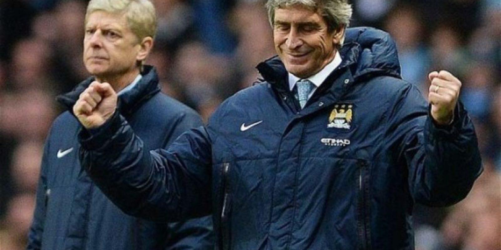"""Resumen ideal del sorteo: El Manchester City de Manuel Pellegrini enfrentará al Dinamo de Kiev, mientras que los """"Gunners"""" de Arsene Wenger se medirán con Barcelona Foto:Twitter"""