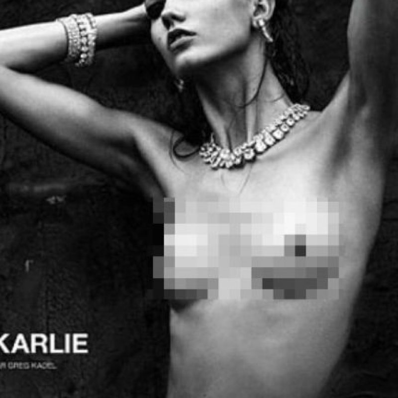 Kloss, de 20 años, es una de las modelos más reconocidas de los últimos años, y tiene un peso que asombra: 55 kilogramos con 1.80 de estatura. Foto:Tumblr