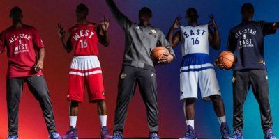 """La NBA presenta las camisetas que se utilizarán en el próximo """"Juego de Estrellas"""" 2016"""