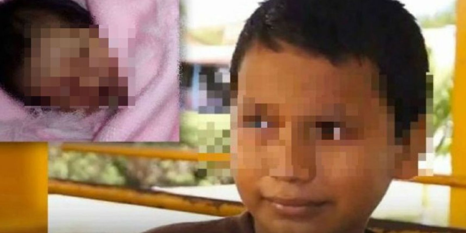 1. Alberto tuvo un bebé a los 11 años. Foto:Vía Twitter