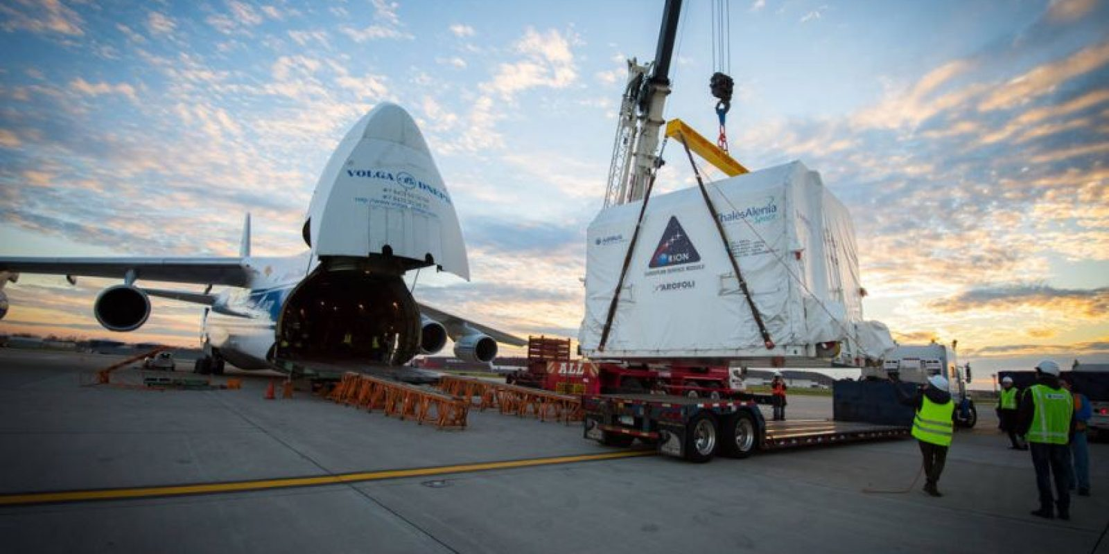 La NASA esta preparando la nave que espera llegar a Marte. Foto:nasa.gov