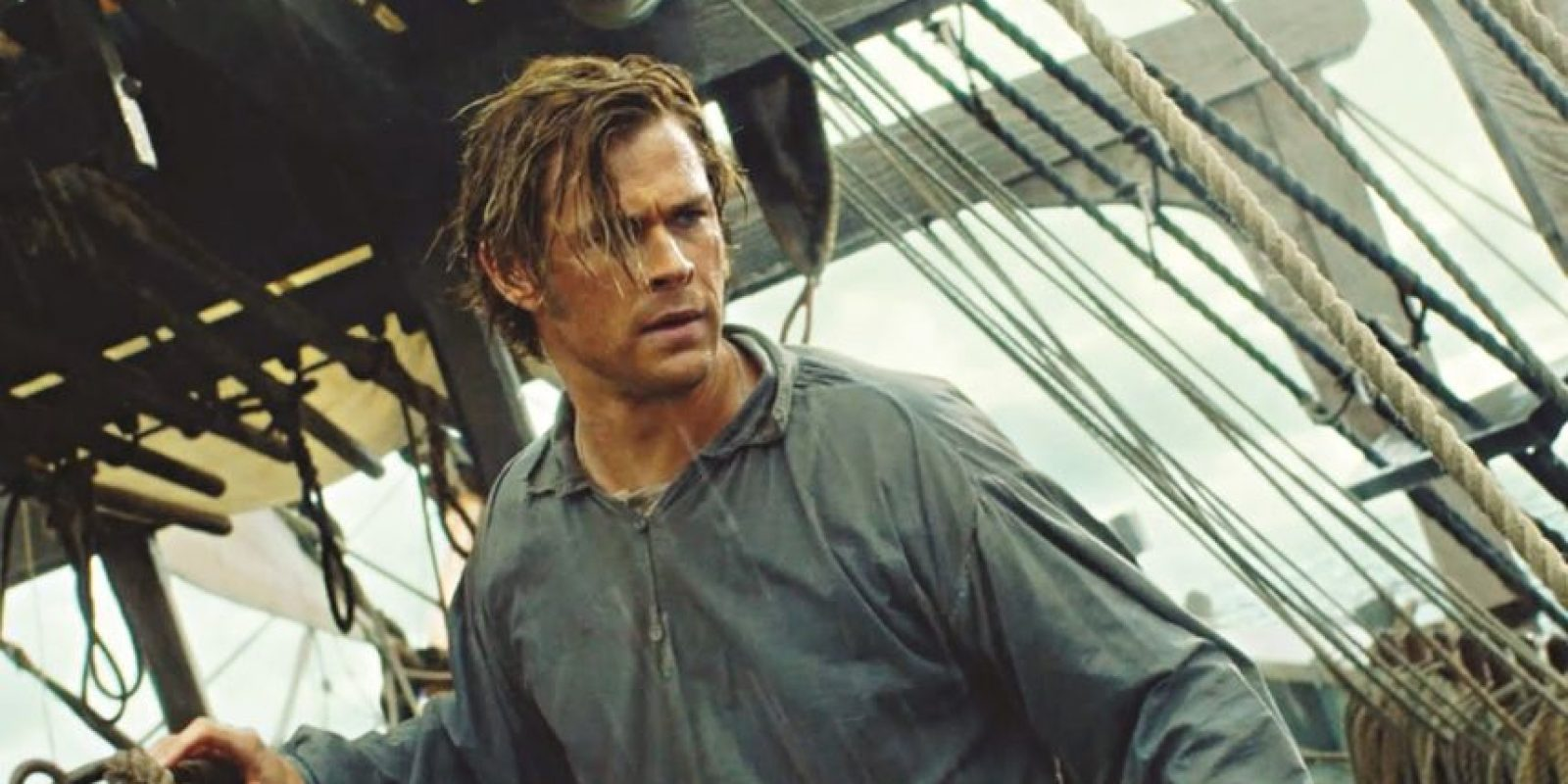 La película basada en la historia real en la que se basó Herman Melville paraescribir Moby Dick y en el best seller de Nathaniel Philbrick, In the Heart of the Sea. Foto: Warner Bros