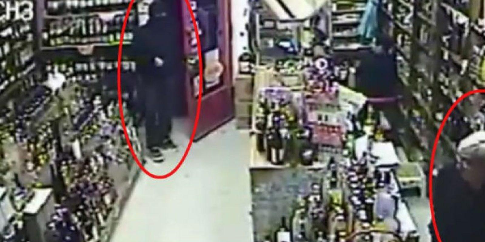 En las próximas imágenes: Ladrones en situaciones muy peculiares Foto:Liveleaks