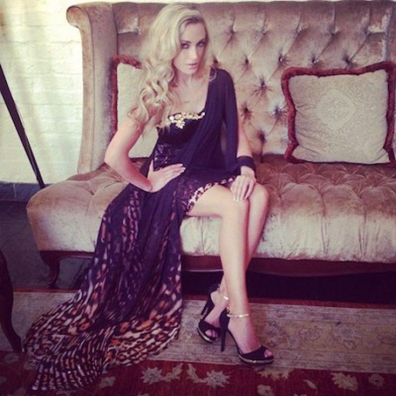 La modelo parecía enamorada Foto:Instagram