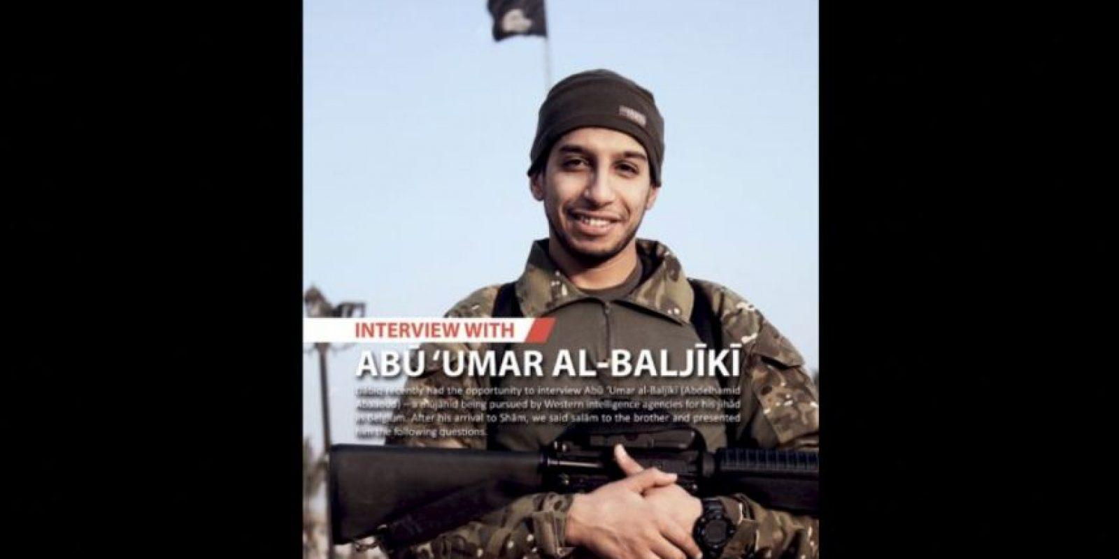 Abaaoud era uno de los principales sospechosos de planear los atentado terrorista en París Foto:AFP