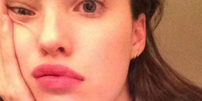 La modelo estadounidense Megan Fay tiene un gusto muy particular por mostrar su peor ángulo en las fotos que publica en Instagram Foto:Vía Instagram/@@meganfayy