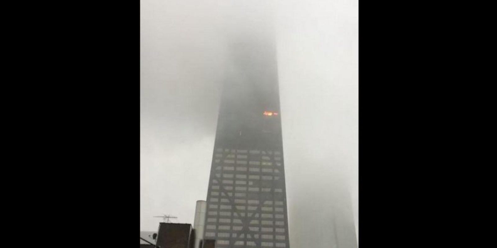 Todo ocurrió en el Hancock Tower Foto:Vía Twitter